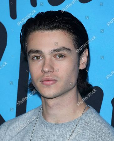 """Felix Mallard arrives at the LA Special Screening of """"All The Bright Places"""" at the ArcLight Cinemas Hollywood, in Los Angeles"""