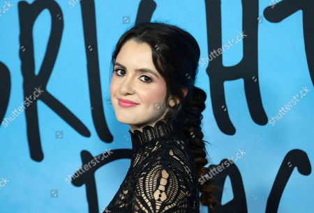 """Laura Marano arrives at the LA Special Screening of """"All The Bright Places"""" at the ArcLight Cinemas Hollywood, in Los Angeles"""