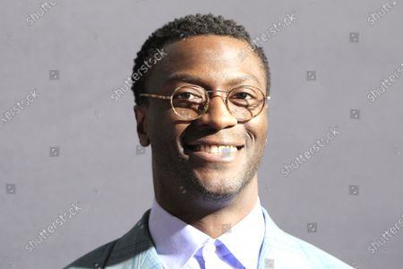 Aldis Hodge arrives for the premiere of the film 'The Invisible Man' at the TCL Chinese Theatre IMAX in Hollywood, California, USA, 24 February 2020. The movie opens in the USA on 28 February 2020.