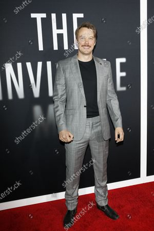 Michael Dorman arrives for the premiere of the film 'The Invisible Man' at the TCL Chinese Theatre IMAX in Hollywood, California, USA, 24 February 2020. The movie opens in the USA on 28 February 2020.