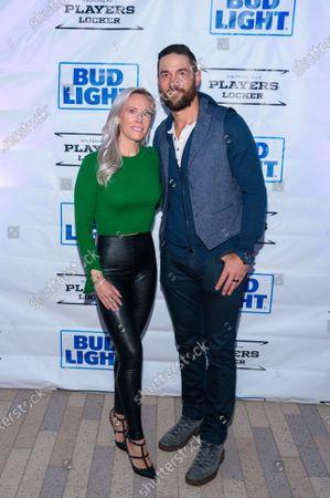 Deryk Engelland and Melissa Engelland