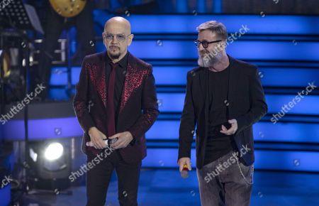 Enrico Ruggeri and Marco Masini