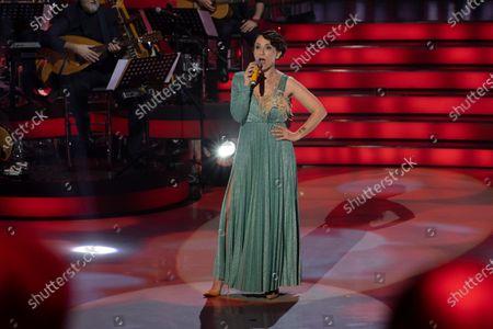Editorial picture of 'Una Storia Da Cantare' TV show, Naples, Italy - 22 Feb 2020