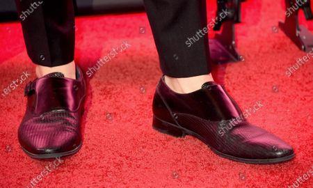 Michael Ray, shoe detail