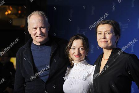 Stellan Skarsgard, Andrea Bræin Hovig and Maria Sodahl
