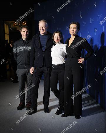 Thomas Robsahm, Stellan Skarsgard, Andrea Braein Hovig and Maria Sodahl