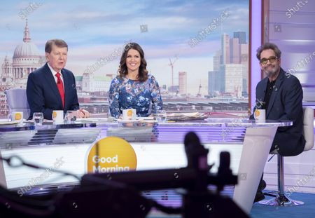 Stock Picture of Bill Turnbull and Susanna Reid, Huey Lewis