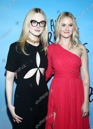 Editorial photo of 'All the Bright Places' film special screening, Arrivals, ArcLight Cinemas, Los Angeles, USA - 24 Feb 2020