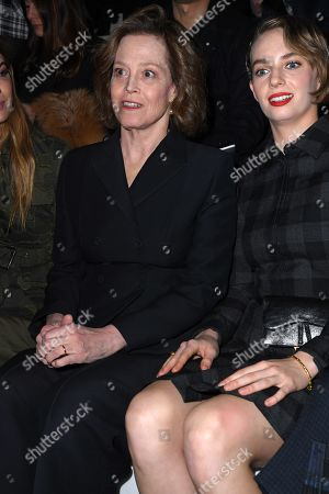 Editorial image of Dior show, Front Row, Fall Winter 2020, Paris Fashion Week, France - 25 Feb 2020