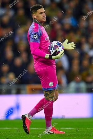 Ederson Moraes of Manchester City
