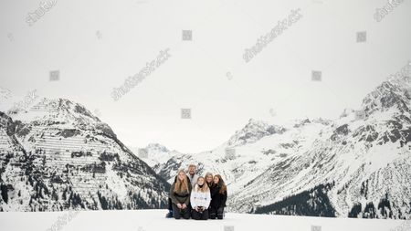 Editorial photo of Dutch royal family on winter vacations at the Austrian ski resort of Lech, Lech Am Arlberg, Austria - 25 Feb 2020