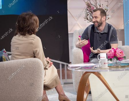 Lorraine Kelly and Charlie Condou