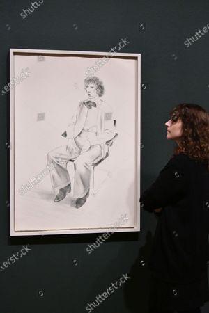 David Hockney, Gregory Evans, 1976