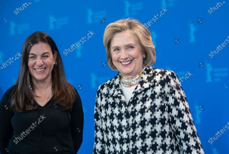 Nanette Burstein and Lady Hillary Clinton