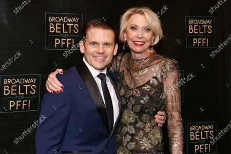 Robert Creighton and Julie Halston