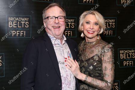 Edward Hibbert and Julie Halston