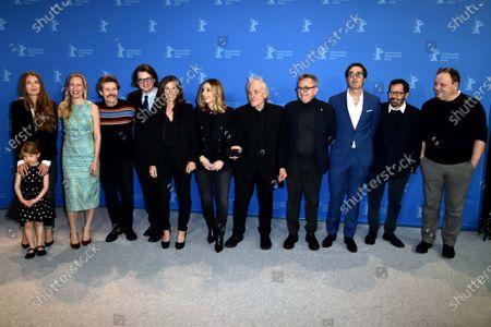Dounia Sichov, Willem Dafoe, Abel Ferrara, Anna Ferrara and Christina Chiriac