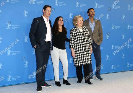 Howard T. Owens, Nanette Burstein, Hillary Clinton and Ben Silverman