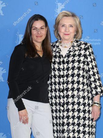 Nanette Burstein and Hillary Clinton