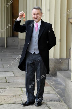 David Bentley receives a Knighthood for Services to Dance.