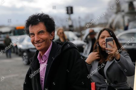 Jack Lang arrives for Dior Women's fashion week Fall/Winter 2020/21 in Paris