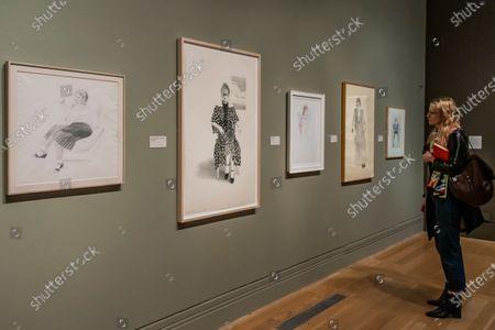 Celia Birtwell - David Hockney