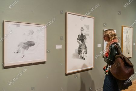 Stock Picture of Celia Birtwell - David Hockney
