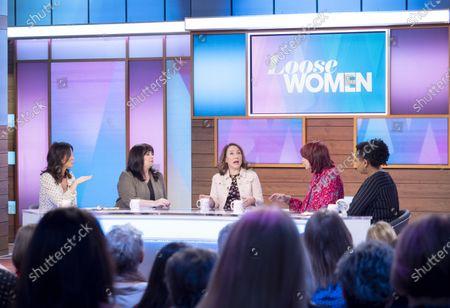 Editorial photo of 'Loose Women' TV show, London, UK - 25 Feb 2020