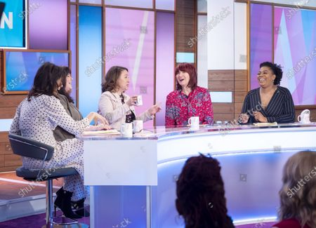 Editorial picture of 'Loose Women' TV show, London, UK - 25 Feb 2020