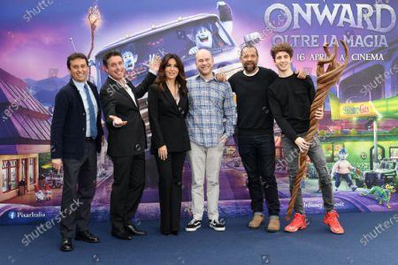 David Parenzo, Raul Cremona, Sabrina Ferilli, Filmmaker Dan Scanlon, Fabio Volo, Favij