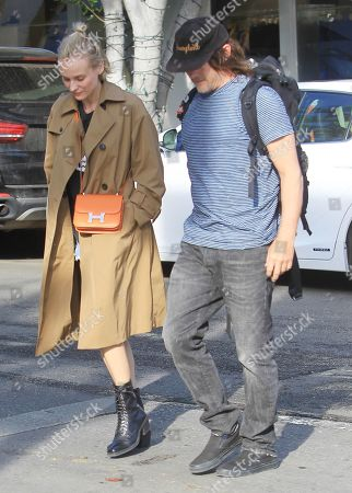 Editorial photo of Diane Kruger and Norman Reedus out and about, Los Angeles, USA - 24 Feb 2020