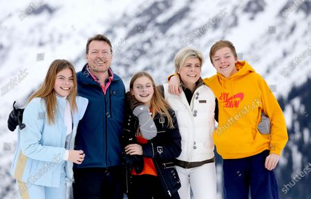 Princess Laurentien and Prince Constantijn and Countess Eloise and Count Claus-Casimir and Countess Leonore
