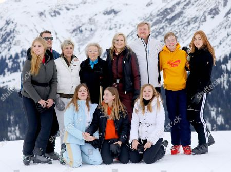 Queen Maxima and King Willem-Alexander and Princess Amalia and Princess Alexia and Princess Ariane and Princess Beatrix and Princess Laurentien and Prince Constantijn and Countess Eloise and Count Claus-Casimir and Countess Leonore