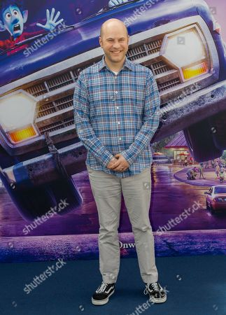 """Dan Scanlon, director of the animated film """"Onward - Beyond the magic"""" during the photocall of the presentation of the film to be released in Italy. (Photo by Gennaro Leonardi/Pacific Press)"""