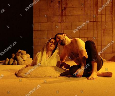 Nicole Ansari-Cox and Adam Sina
