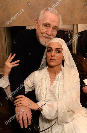 Brian Cox and Nicole Ansari-Cox