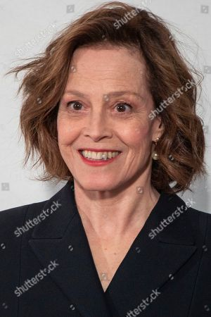 Sigourney Weaver arrives for the Dior fashion collection during Women's fashion week Fall/Winter 2020/21 presented in Paris