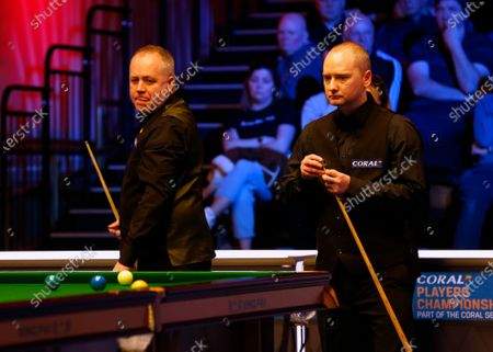 Editorial photo of Coral Players Championship snooker tournament, Southport, UK - 25 Feb 2020