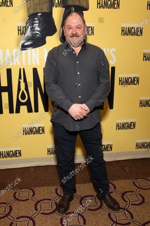 Editorial photo of 'Hangmen' play photocall, New York, USA - 25 Feb 2020