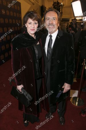 Stock Image of Rosemarie Ford and Robert Lindsay