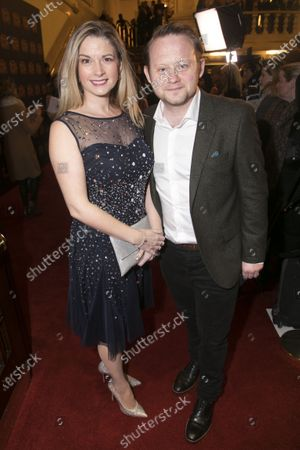 Stock Picture of Caroline Sheen and Michael Jibson