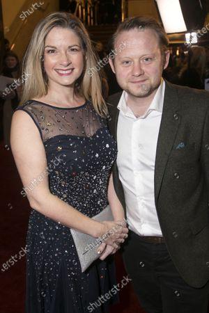 Caroline Sheen and Michael Jibson