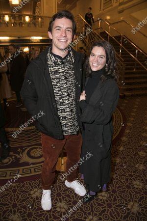 Jonathan Bailey and Sabrina Bartlett