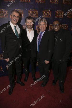 Stock Picture of Philip LaZebnik (Author), Scott Schwartz (Director), Stephen Schwartz (Music/Lyrics) and Sean Cheesman (Choreographer)