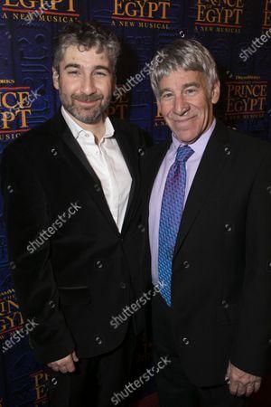 Stock Photo of Scott Schwartz (Director) and Stephen Schwartz (Music/Lyrics)