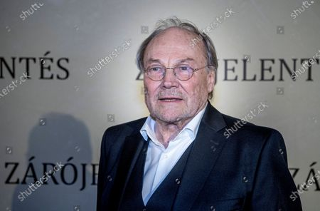 Editorial picture of Klaus Maria Brandauer stars in Hungarian movie, Budapest, Hungary - 25 Feb 2020