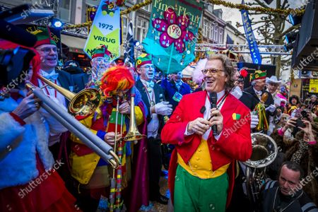Editorial image of Andre Rieu conducts chapel in Maastricht, Netherlands - 25 Feb 2020
