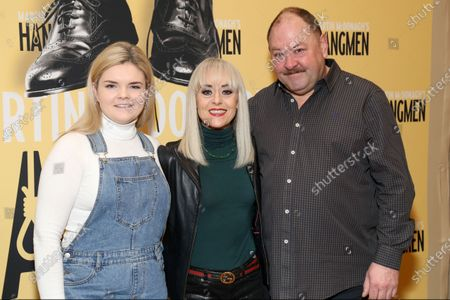 Gaby French, Tracie Bennett and Mark Addy