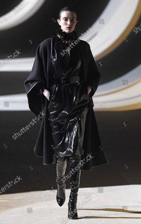 Editorial image of Yves Saint Laurent - Runway - Paris Fashion Week Women's FW 2020/21, France - 25 Feb 2020