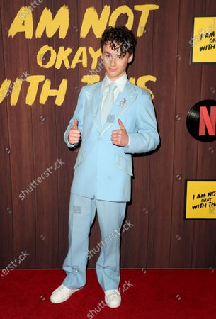 Editorial picture of 'I Am Not Okay with This' TV show premiere, Arrivals, The London, Los Angeles, USA - 25 Feb 2020